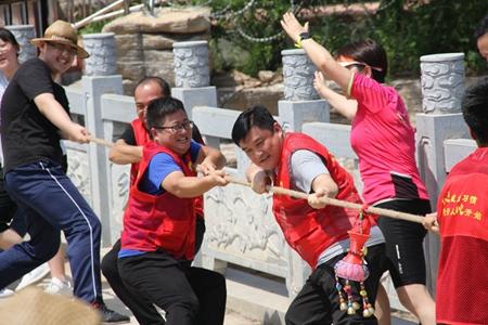 边游览边健身 新泰见子山举办全民健身嘉年华活动