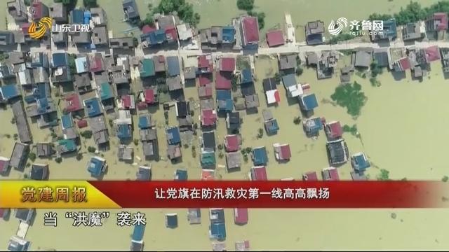 【党建周报】让党旗在防汛救灾第一线高高飘扬