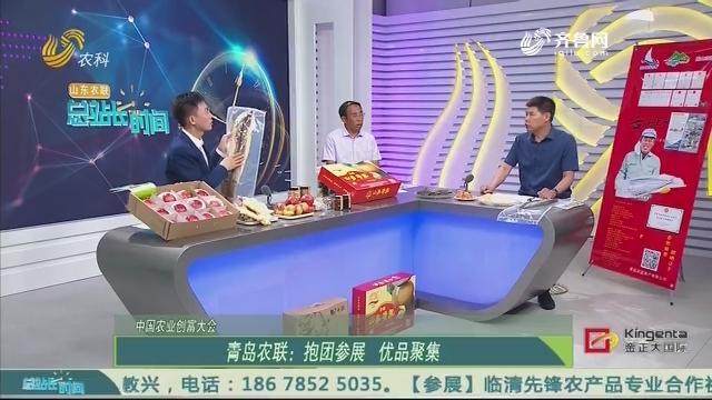 20200816《总站长时间》:中国农业创富大会——青岛农联抱团参展 优品聚集