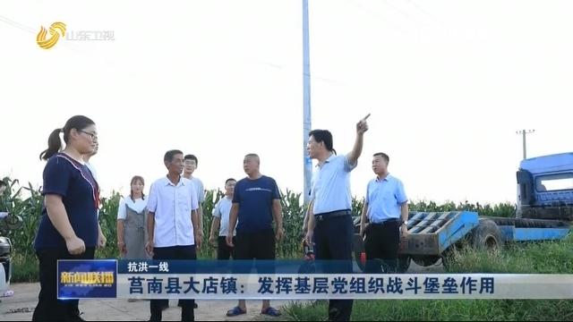 【抗洪一线】莒南县大店镇:发挥基层党组织战斗堡垒作用