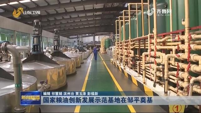 国家粮油创新发展示范基地在邹平奠基