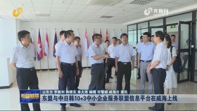 东盟与中日韩10+3中小企业服务联盟信息平台在威海上线