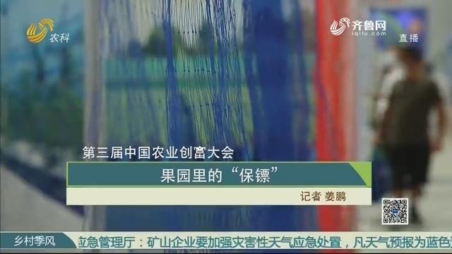 """【第三届中国农业创富大会】果园里的""""保镖"""""""