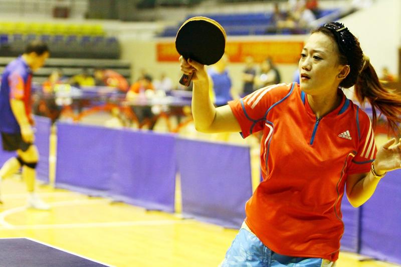 济南举办六城市乒乓球联谊赛