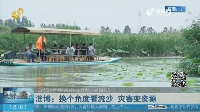 淄博:换个角度看流沙 灾害变资源