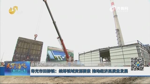 【县域观察】寿光市田柳镇:统筹镇域资源要素 推动经济高质量发展