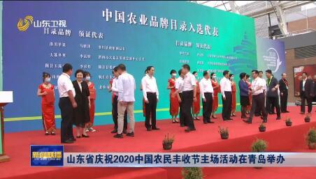 山东省庆祝2020中国农民丰收节主场活动在青岛举办