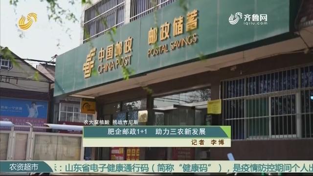 【农大腐植酸 挑战吉尼斯】肥企邮政1+1 助力三农新发展