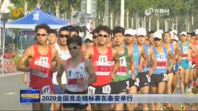 2020全国竞走锦标赛在泰安举行