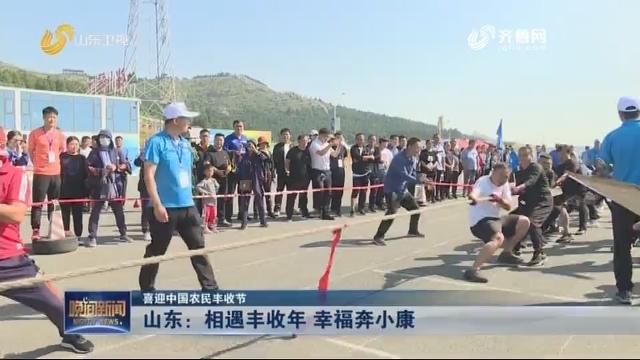 【喜迎中国农民丰收节】山东:相遇丰收年 幸福奔小康