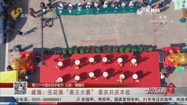"""【第三个中国农民丰收节】威海:无花果""""果王大赛"""" 果农共庆丰收"""