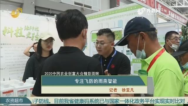 【第三届中国农业创富大会精彩回眸】专注飞防的雨燕智能