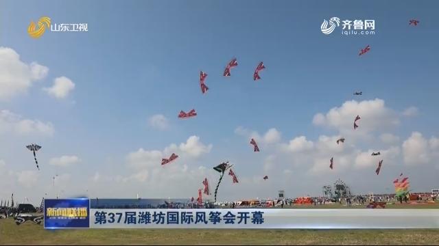 第37届潍坊国际风筝会开幕