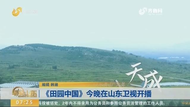 《田园中国》今晚在山东卫视开播