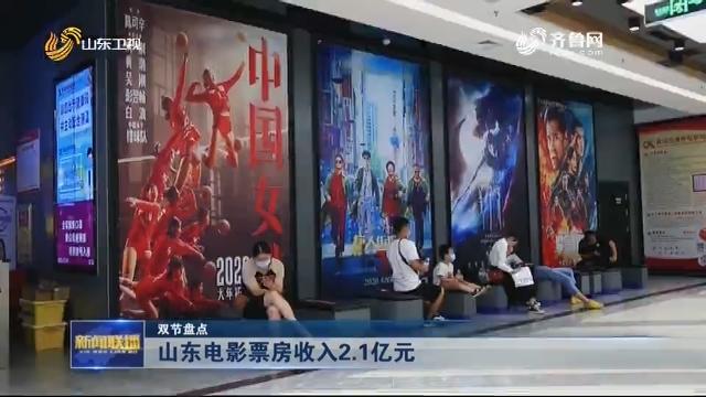 【双节盘点】山东电影票房收入2.1亿元
