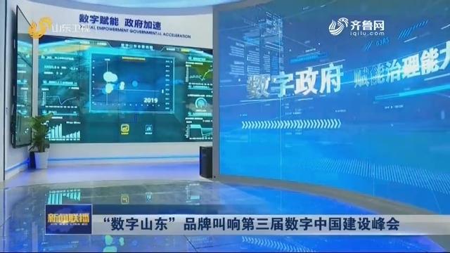 """""""数字山东""""品牌叫响第三届数字中国建设峰会"""