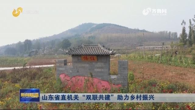 """山东省直机关 """"双联共建"""" 助力乡村振兴"""