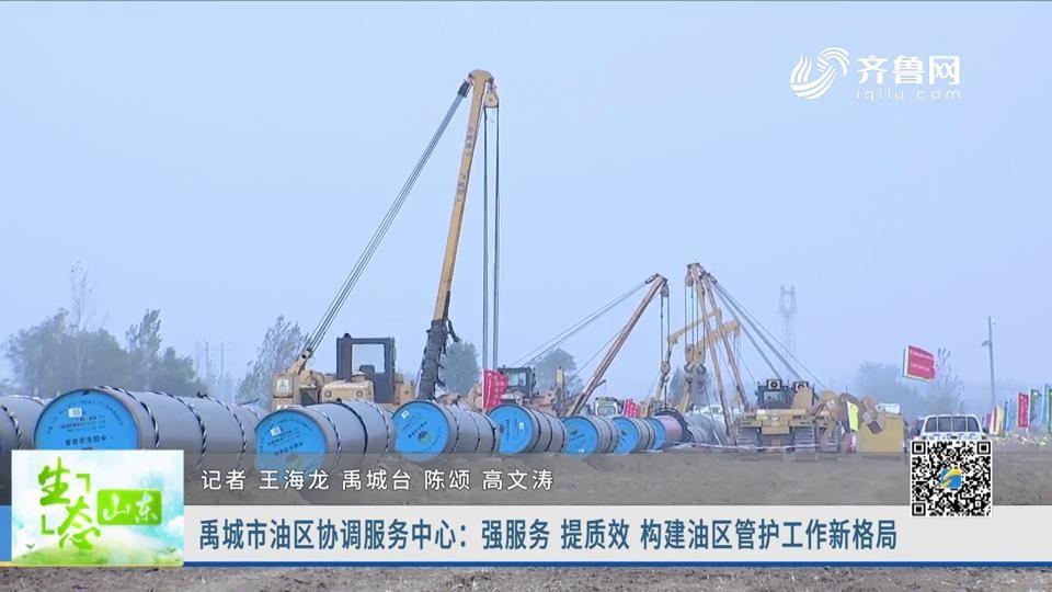 禹城市油区协调办事中心:强办事 提质效 构建油区管护工作新格局