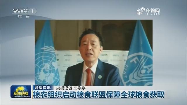 【联播快讯】粮农组织启动粮食联盟保障全球粮食获取