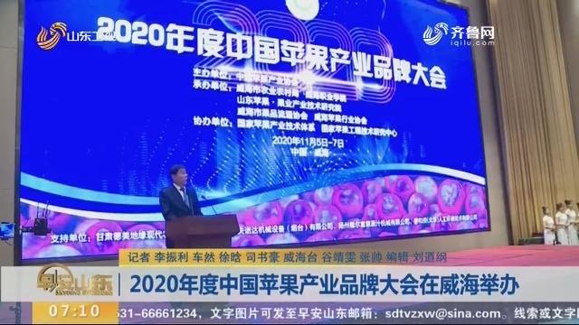 2020年度中國蘋果產業品牌大會在威海舉辦