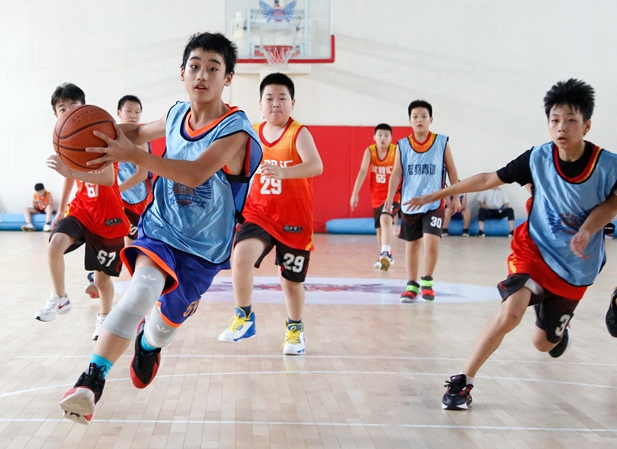 NYBO青少年篮球公开赛烟台站开打
