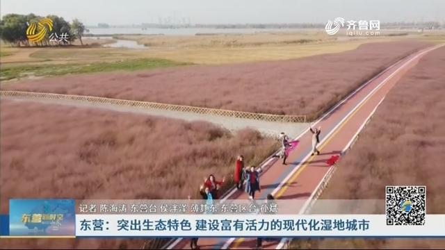 东营:突出生态特色 建设富有活力的现代化湿地城市