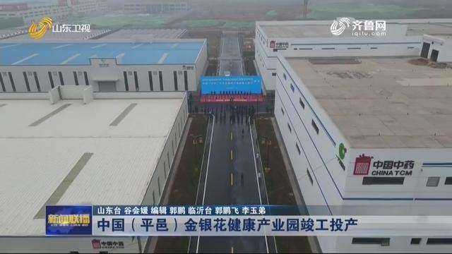 中国(平邑)金银花健康产业园竣工投产