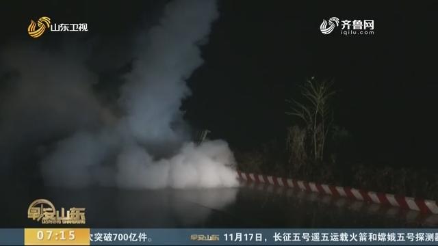 枣庄:人工增雨 缓解旱情