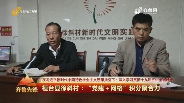 """20201118《齐鲁先锋》:桓台县徐斜村——""""党建+网格""""积分聚合力"""