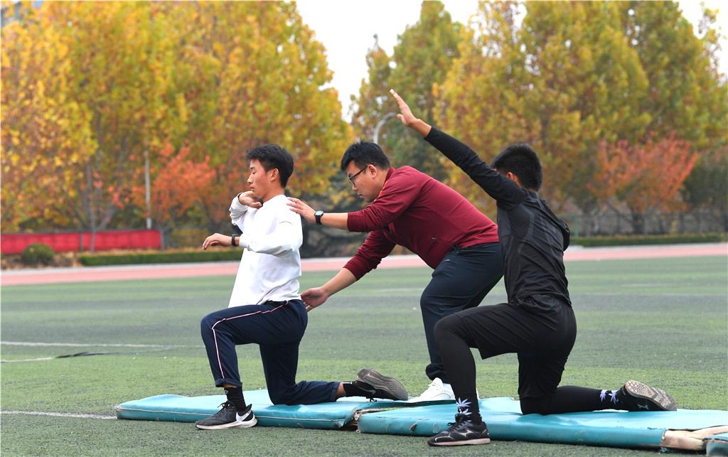 潍坊实验中学:体教融合 发现孩子原本的模样