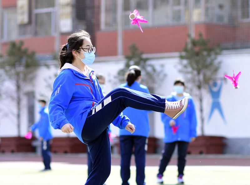 济南市第七届青少年毽球锦标赛举行