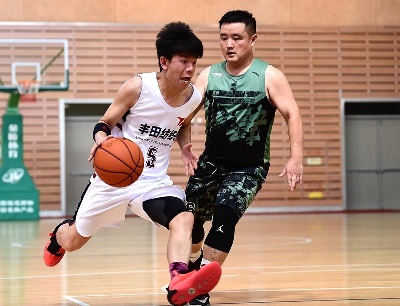 2020中国篮球公开赛烟台站比赛开战