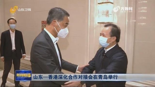 山东—香港深化合作对接会在青岛举行