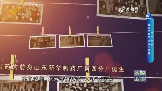 【品牌馨对话】瑞阳制药:做百亿药企 树百年品牌
