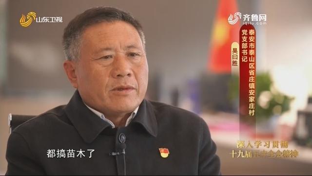 20201202《齐鲁先锋》:吴曰胜——苗木兴村 生态强村
