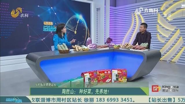 【乡村振兴有我站长】陶胜山:种好菜,先养地!