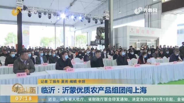 临沂:沂蒙优质农产品组团闯上海