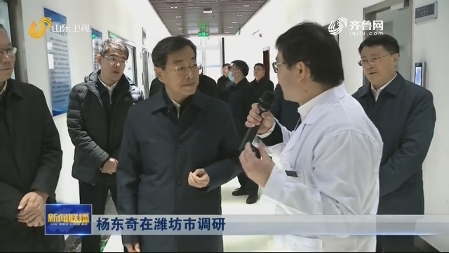 杨东奇在潍坊市调研