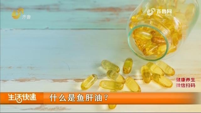 什么是鱼肝油?