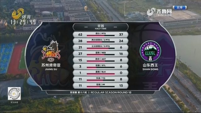 苏州肯帝亚vs山东西王(中)