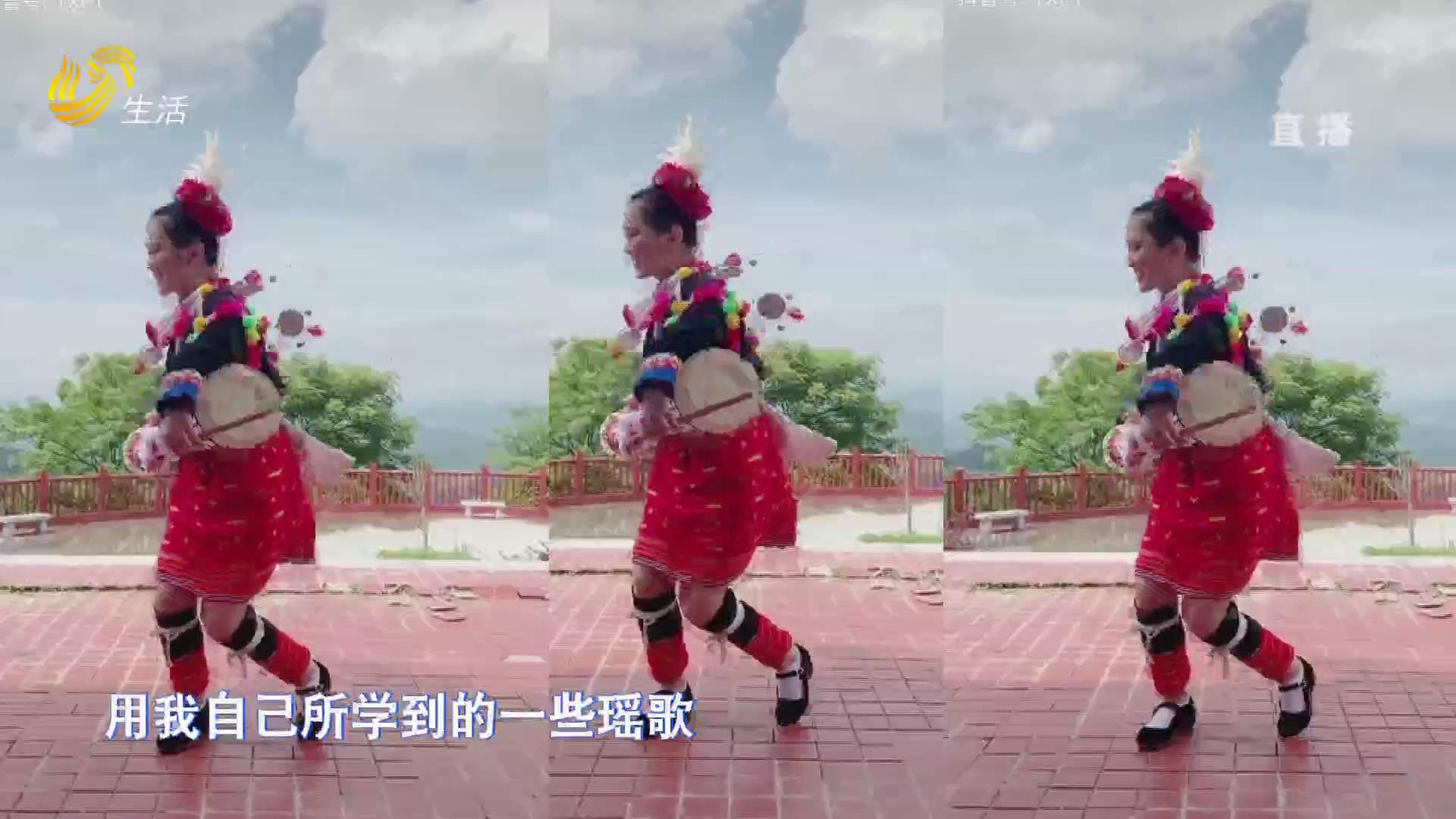 油岭古镇的瑶族姑娘