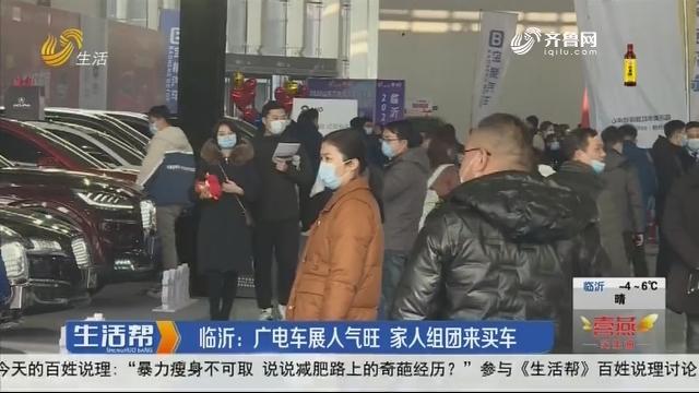 临沂:广电车展人气旺 家人组团来买车