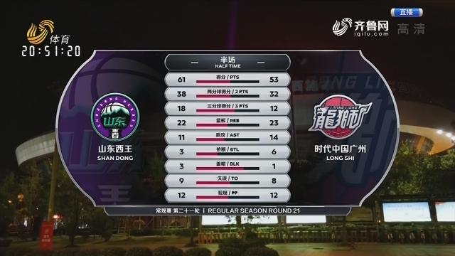山东西王vs时代中国广州(中)