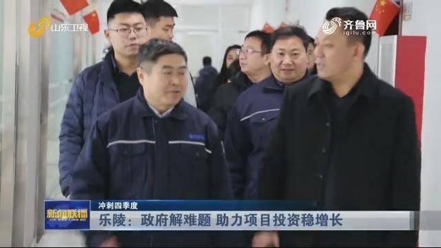 【冲刺四季度】乐陵:政府解难题 助力项目投资稳增长