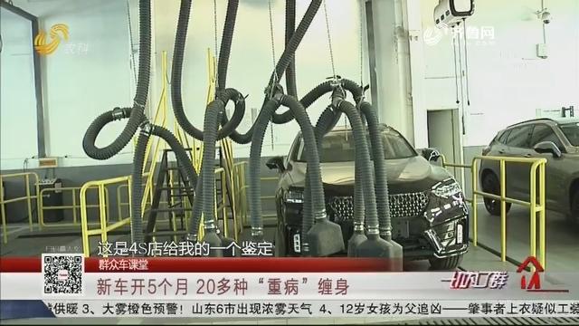 """【群众车课堂】新车开5个月 20多种""""重病""""缠身"""