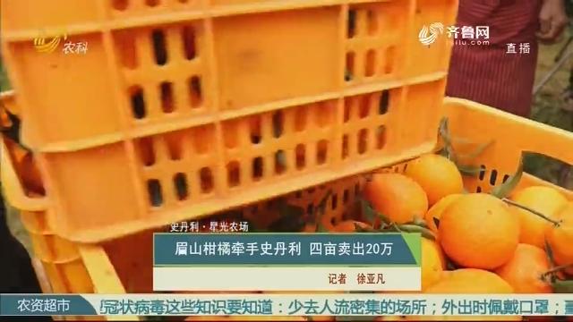 【史丹利·星光农场】眉山柑橘牵手史丹利 四亩卖出20万