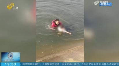 山东汉子湖北勇救落水女童 曾在疫情期间做志愿者