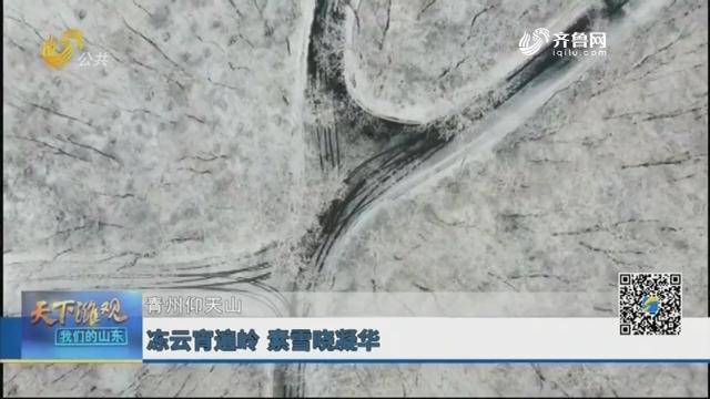 青州仰天山:冻云青遍岭 素雪晓凝华