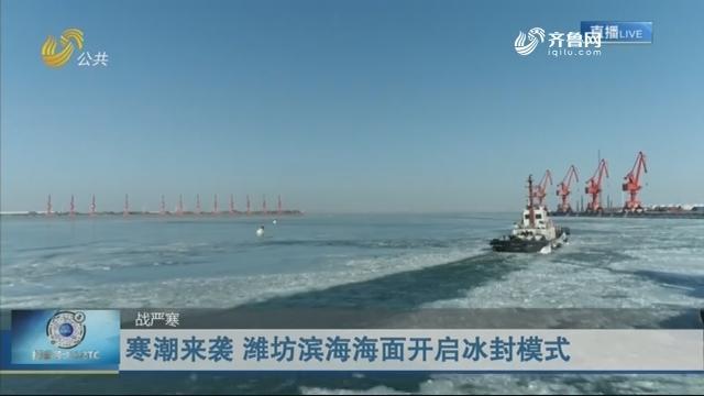 【战严寒】寒潮来袭 潍坊滨海海面开启冰封模式