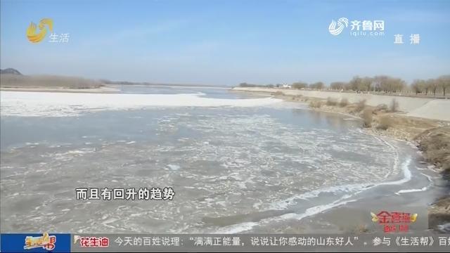 12段!黄河济南段时隔5年再次封河